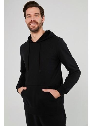 Penti Erkek Siyah Dark  Sweatshirt PH4B1L8D20SK Siyah
